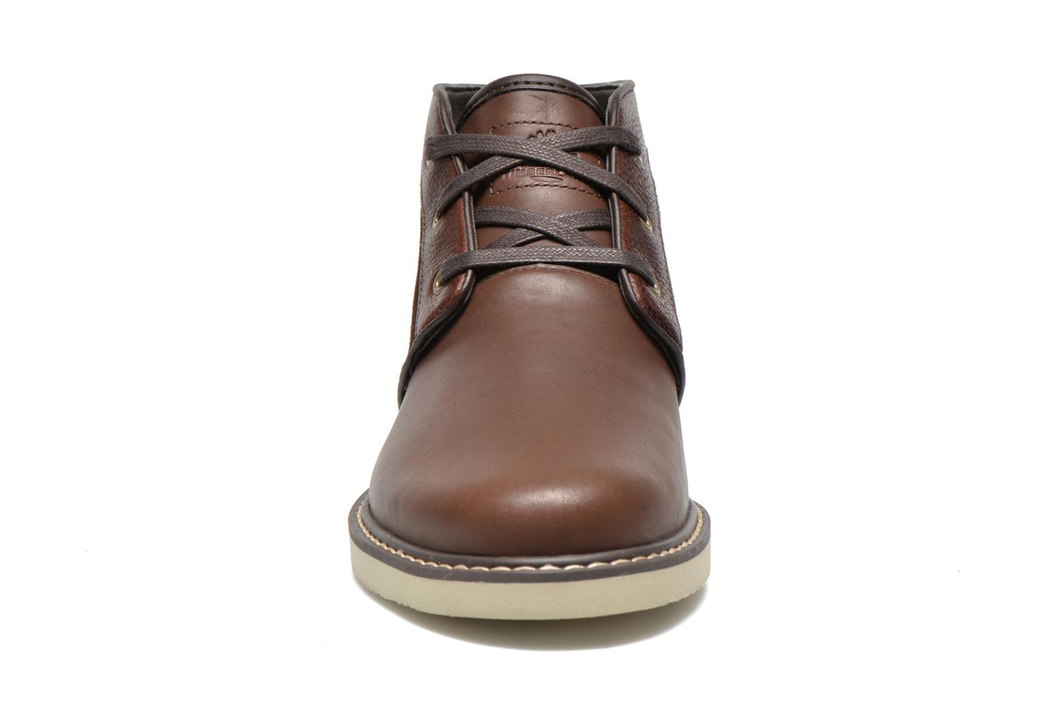 Lace-up shoes Timberland Newmarket Chukka Brown model view