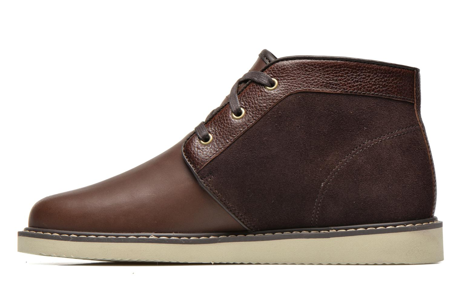 Lace-up shoes Timberland Newmarket Chukka Brown front view