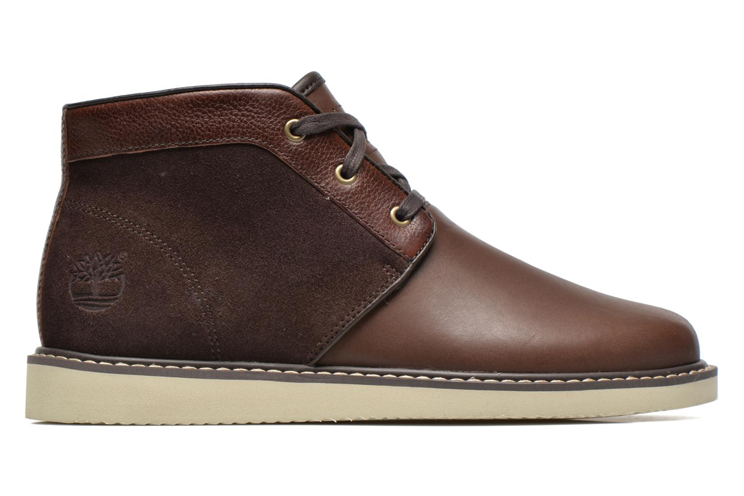 Lace-up shoes Timberland Newmarket Chukka Brown back view