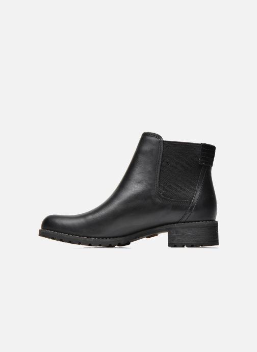Boots en enkellaarsjes Timberland Bethel Heights Double Gore Chelsea Zwart voorkant