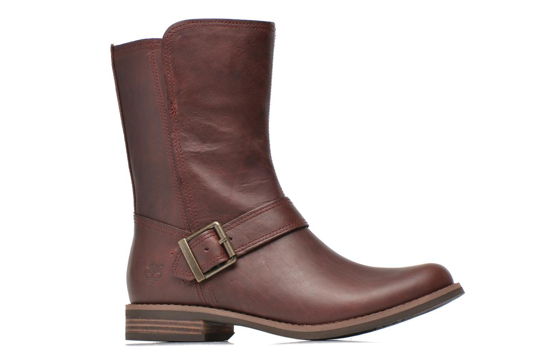 Bottines et boots Timberland Savin Hill Mid Zip Bordeaux vue derrière