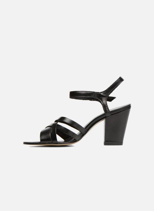 Sandales et nu-pieds Elizabeth Stuart Borel 304 Noir vue face