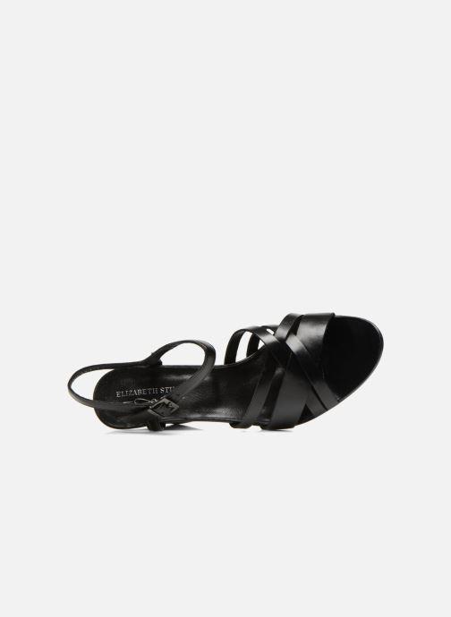 Sandales et nu-pieds Elizabeth Stuart Borel 304 Noir vue gauche