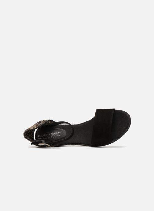 Sandales et nu-pieds Elizabeth Stuart Trevise 630 Noir vue gauche