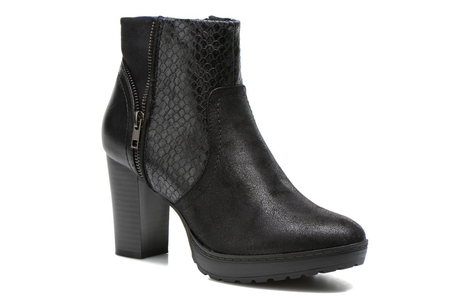 Ankle boots La Strada Lola Black detailed view/ Pair view