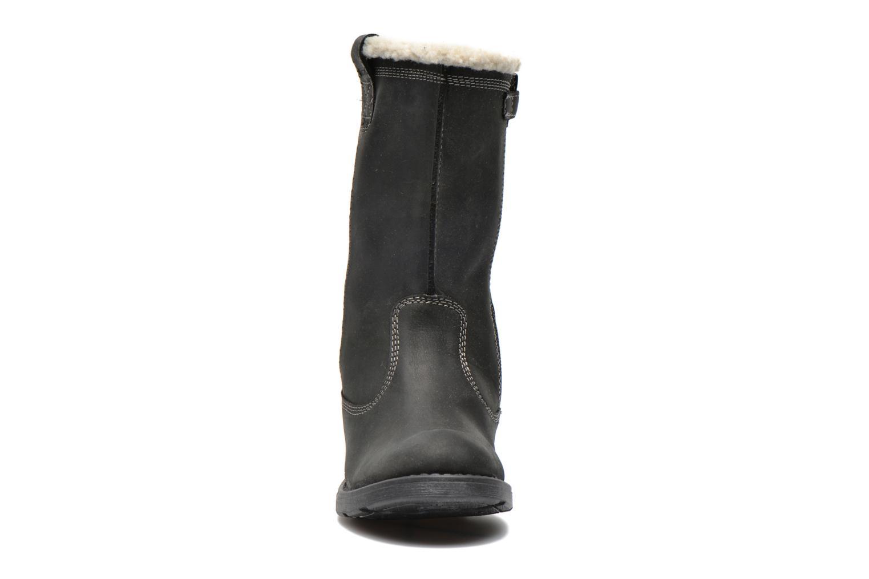Bottines et boots Geox J SOFIA BOY E J44A2E Noir vue portées chaussures