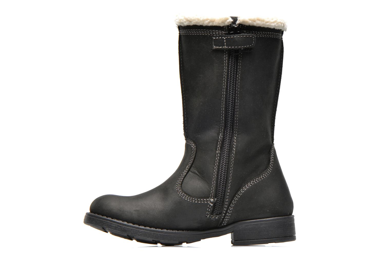 Bottines et boots Geox J SOFIA BOY E J44A2E Noir vue face