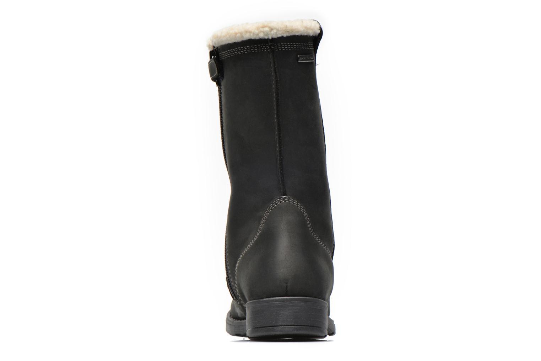 Bottines et boots Geox J SOFIA BOY E J44A2E Noir vue droite