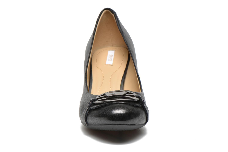 Escarpins Geox D Mariele Mid B D44T7B Noir vue portées chaussures