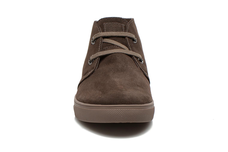 Baskets Geox U Barenton C U44Z7C Gris vue portées chaussures