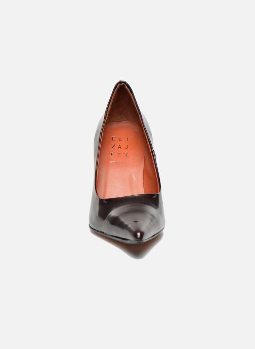 Escarpins Elizabeth Stuart Gerys 308 Bordeaux vue portées chaussures