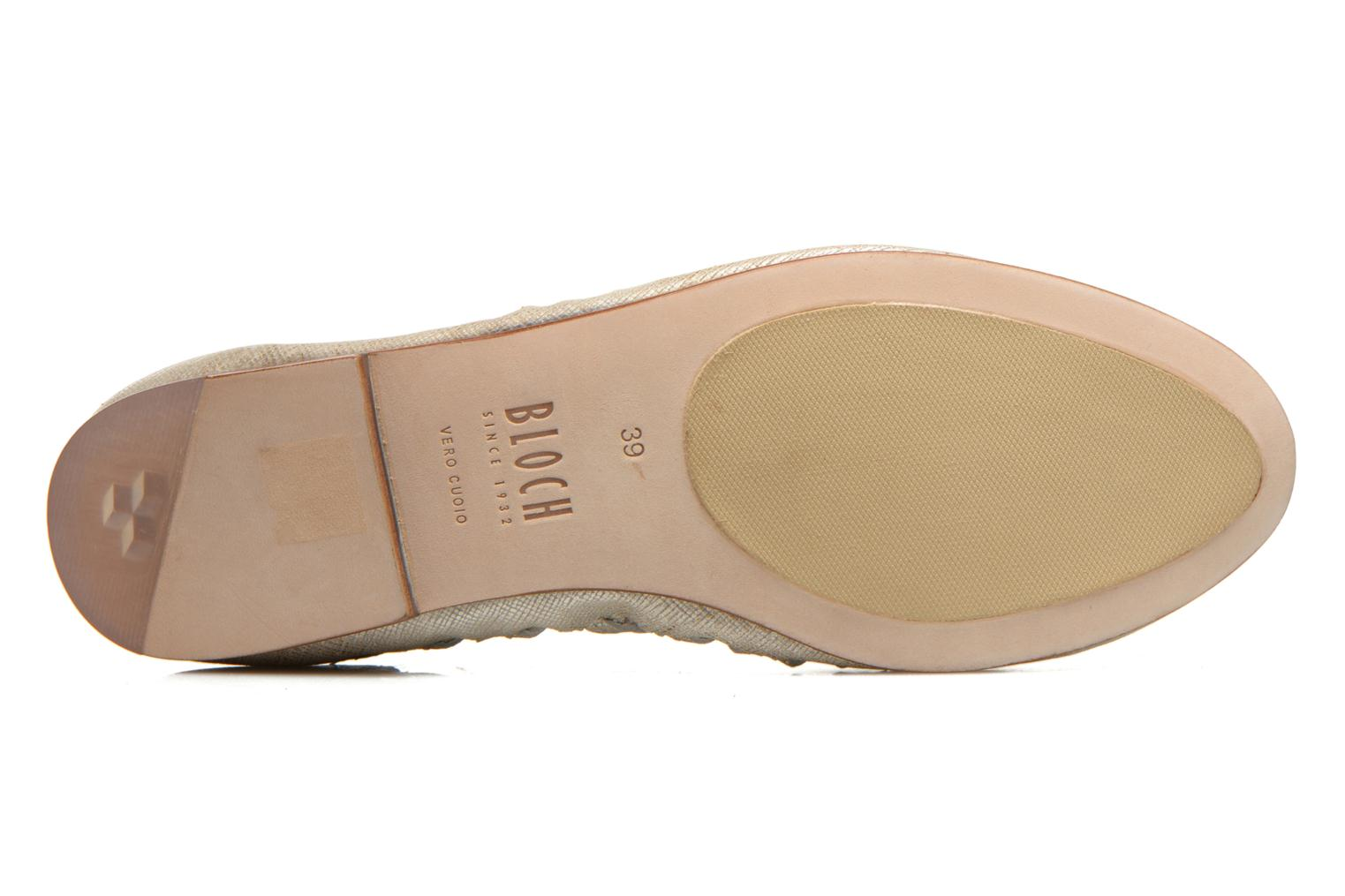 Ballet pumps Bloch Alba Silver view from above
