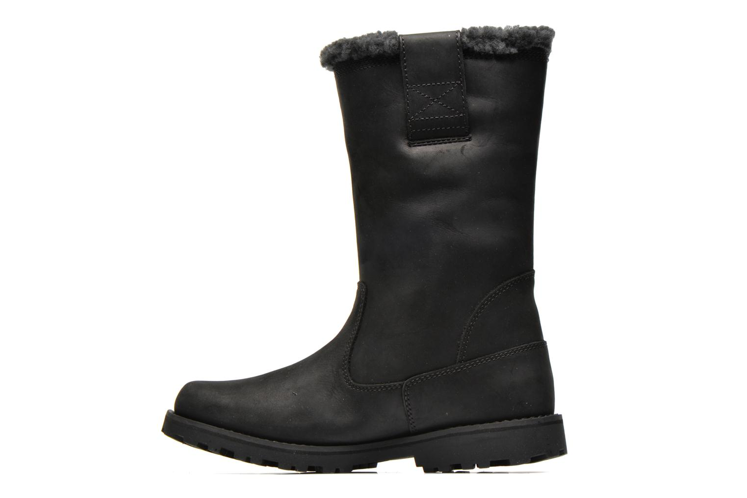 Ankle boots Timberland 8 IN PULL ON WP BOOT Black front view