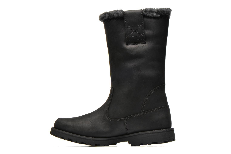 Stiefeletten & Boots Timberland 8 IN PULL ON WP BOOT schwarz ansicht von vorne