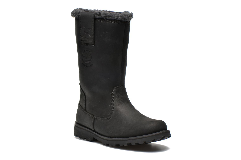 Stiefeletten & Boots Timberland 8 IN PULL ON WP BOOT schwarz detaillierte ansicht/modell