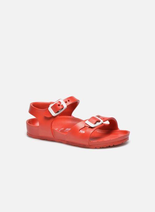 Sandalen Birkenstock Rio EVA rot detaillierte ansicht/modell