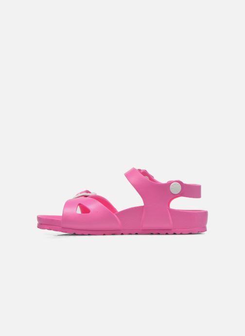 Sandali e scarpe aperte Birkenstock Rio EVA Rosa immagine frontale