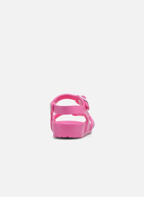 Sandalen Birkenstock Rio EVA rosa ansicht von rechts