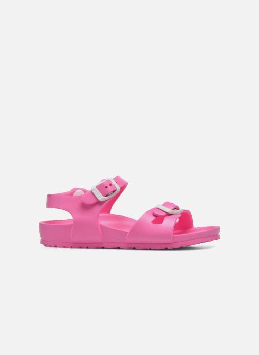 Sandalen Birkenstock Rio EVA rosa ansicht von hinten
