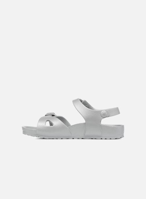 Sandales et nu-pieds Birkenstock Rio EVA Argent vue face
