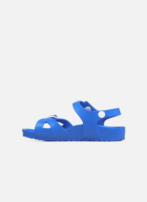 Sandalen Birkenstock Rio EVA blau ansicht von vorne