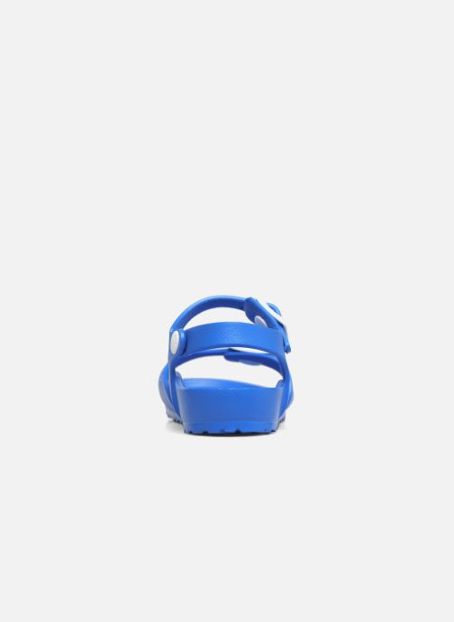 Sandalen Birkenstock Rio EVA blau ansicht von rechts