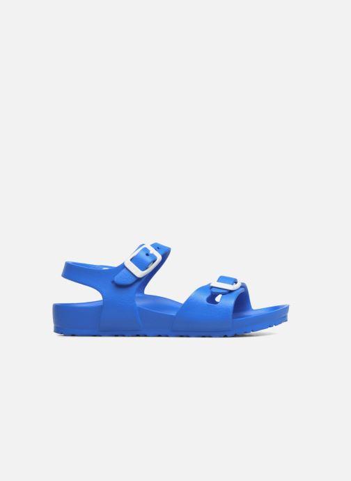 Sandalen Birkenstock Rio EVA blau ansicht von hinten