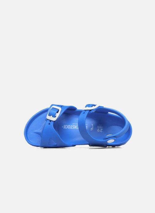 Sandalen Birkenstock Rio EVA blau ansicht von links