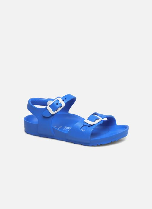 Sandalen Birkenstock Rio EVA blau detaillierte ansicht/modell