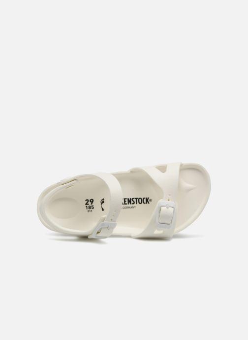 Sandali e scarpe aperte Birkenstock Rio EVA Bianco immagine sinistra
