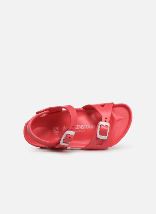 Sandalen Birkenstock Rio EVA rosa ansicht von links