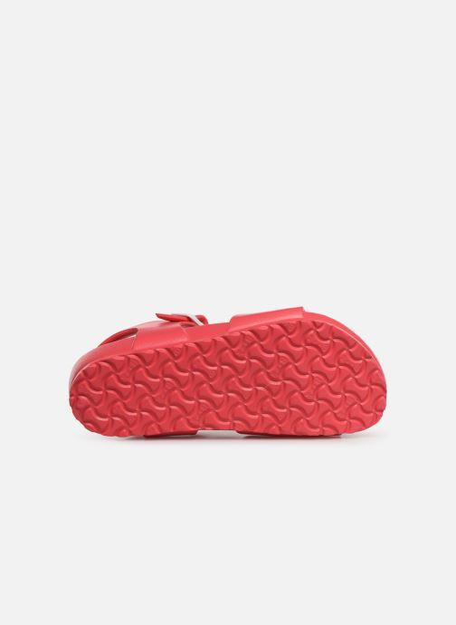 Sandalen Birkenstock Rio EVA rosa ansicht von oben