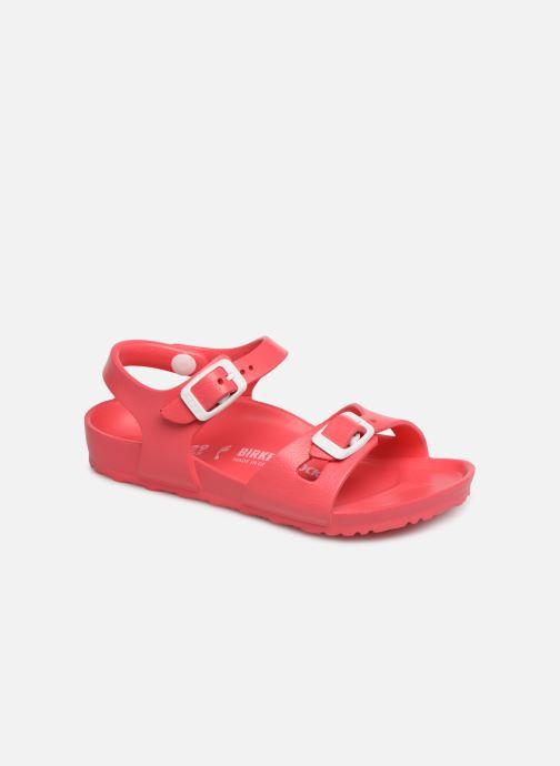 Sandales et nu-pieds Birkenstock Rio EVA Rose vue détail/paire