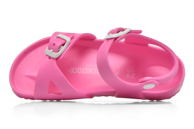 Sandali e scarpe aperte Birkenstock Rio EVA Rosa immagine sinistra