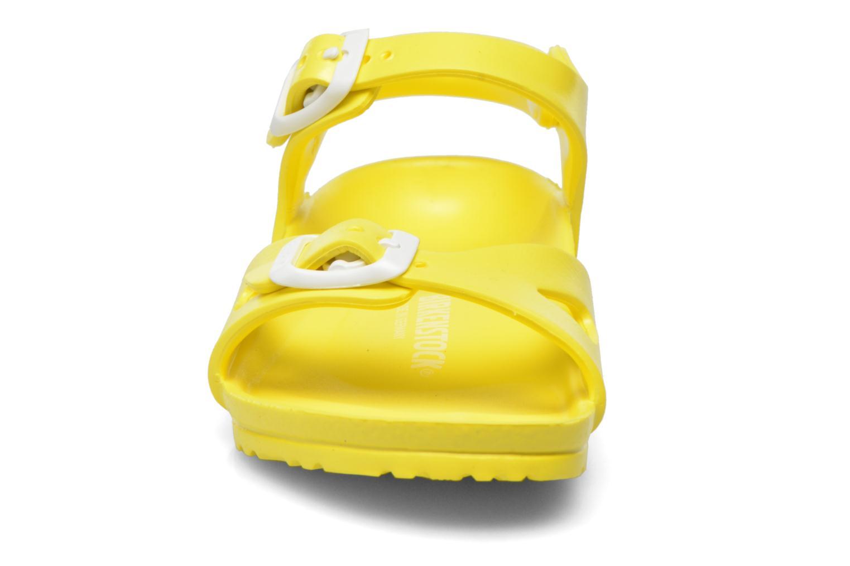 Sandals Birkenstock Rio EVA Yellow model view