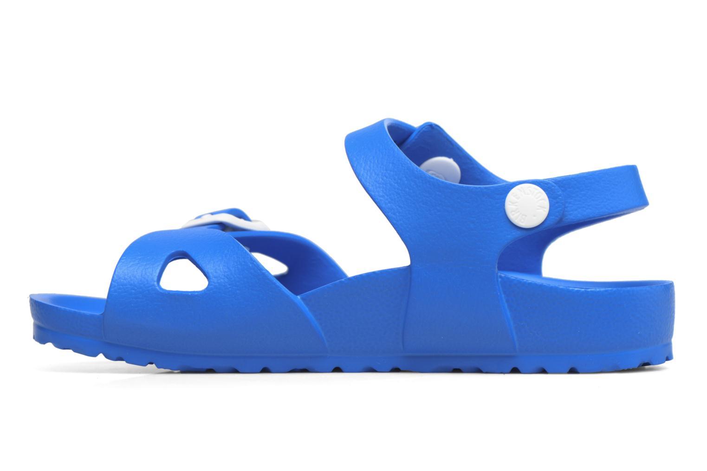 Sandali e scarpe aperte Birkenstock Rio EVA Azzurro immagine frontale