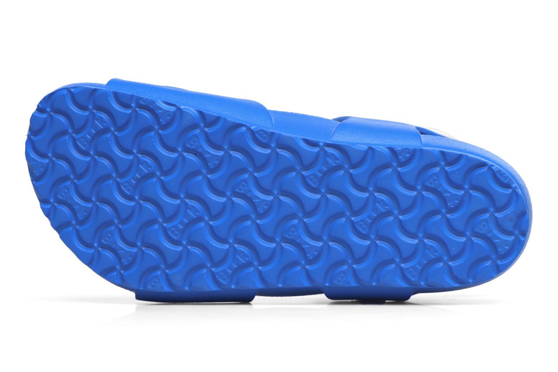 Sandales et nu-pieds Birkenstock Rio EVA Bleu vue haut