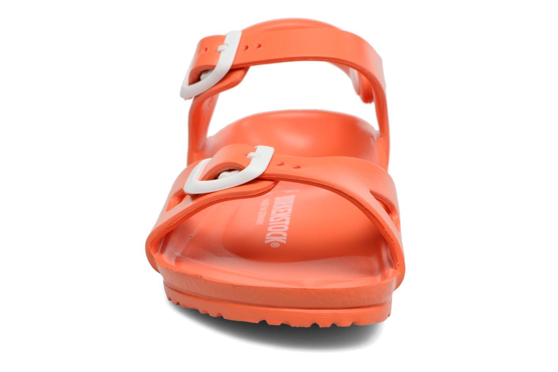 Sandales et nu-pieds Birkenstock Rio EVA Orange vue portées chaussures
