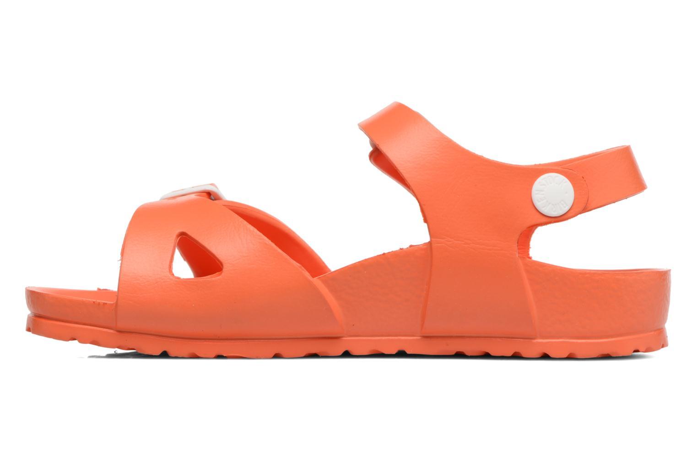Sandalen Birkenstock Rio EVA orange ansicht von vorne