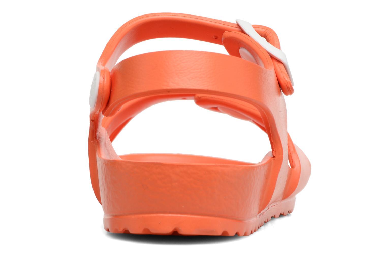 Sandalen Birkenstock Rio EVA orange ansicht von rechts
