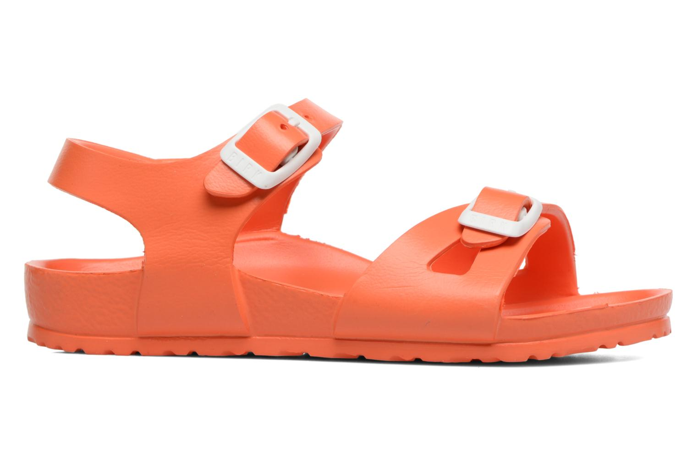 Sandalen Birkenstock Rio EVA orange ansicht von hinten