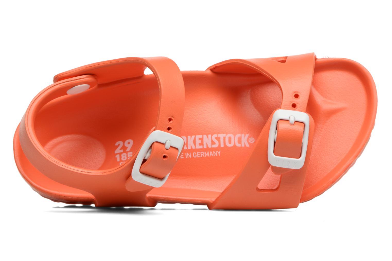 Sandales et nu-pieds Birkenstock Rio EVA Orange vue gauche