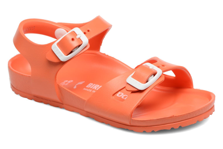 Sandalen Birkenstock Rio EVA orange detaillierte ansicht/modell