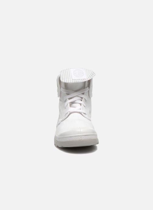 Trainers Palladium Baggy lite kid White model view