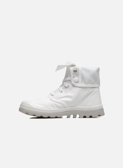 Trainers Palladium Baggy lite kid White front view
