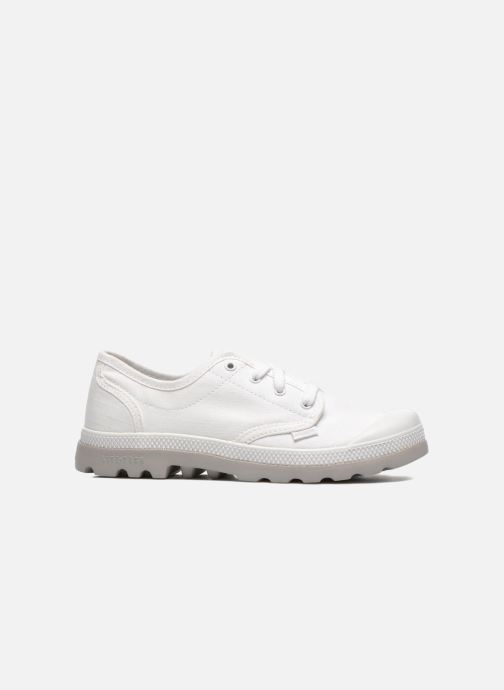 Deportivas Palladium Oxford lite kid Blanco vistra trasera