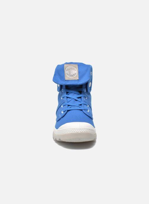 Sneakers Palladium Baggy lit spo k Azzurro modello indossato