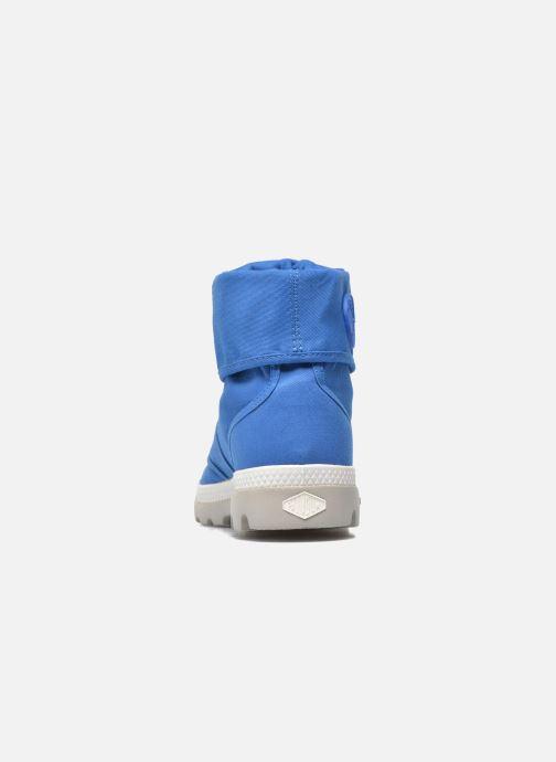 Baskets Palladium Baggy lit spo k Bleu vue droite