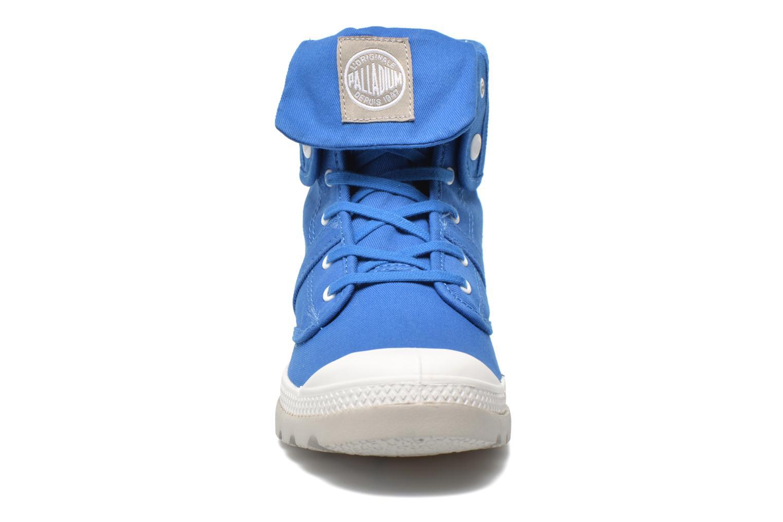 Baskets Palladium Baggy lit spo k Bleu vue portées chaussures
