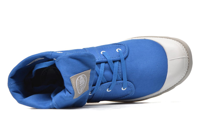 Baskets Palladium Baggy lit spo k Bleu vue gauche